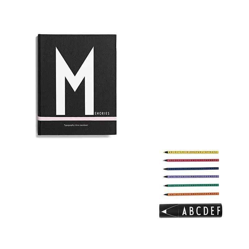 筆記本M+abc色鉛筆組