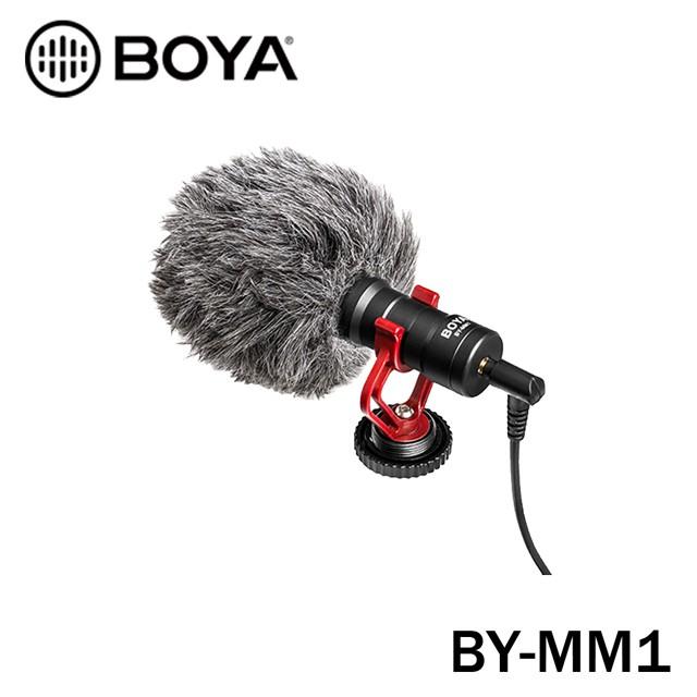 BOYA BY-MM1 手機 相機 單眼 指向性 直播錄音 麥克風 台灣立福公司貨 有保障