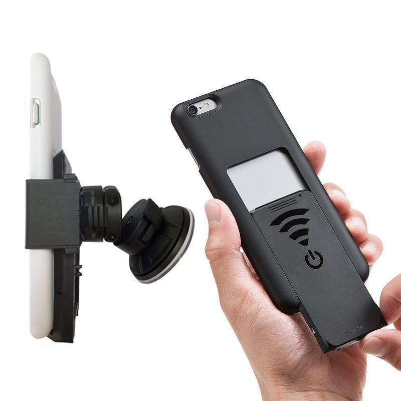 """【限時加碼贈】車用無線充電組 (加送原廠充電保護殼) c.iPhone 6/6s Plus(5.5"""") - 白色 / a.iPhone 6/6s(4.7"""") - 白色"""