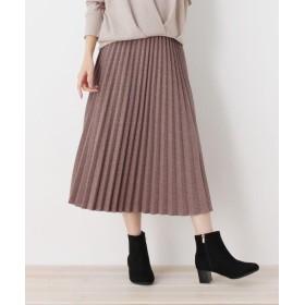 SHOO・LA・RUE/DRESKIP(シューラルー/ドレスキップ) カットジャガードプリ-ツスカート