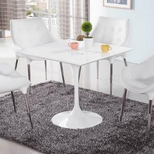 塑鋼造型方桌