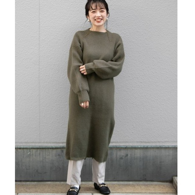 URBAN RESEARCH ITEMS / アーバンリサーチ アイテムズ ニットロングワンピース