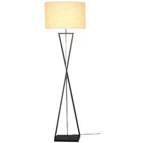 0 Ledフロアランプ読書灯シンプルモダン人格アイアンアートベッドルームベッドサイド垂直テーブルランプ12ワットの黄色光 0