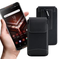 CITY 品味爵士 for Google Pixel 4 XL/OPPO Reno2 Z/Nokia 7.2 手機用腰掛腰包皮套-送扣環