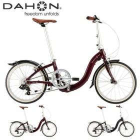((送料無料※離島・沖縄除く))DAHON Ciao 2020年 / ダホン 折りたたみ自転車 ((中サイズ))