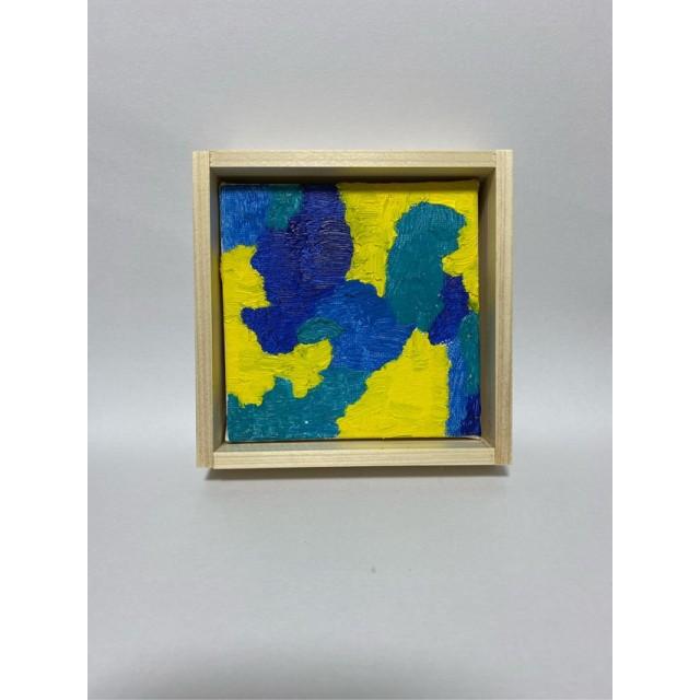 プレゼント ︎自分へのご褒美 ︎お部屋のアクセントに 箱に入った小さな絵画 irobako