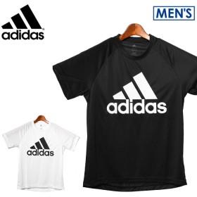アディダス ADIDAS Tシャツ D2Mトレーニング ビッグロゴ Tシャツ BVA79 半袖 トレーニング メンズ