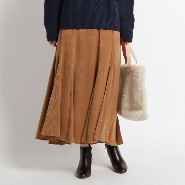 Dessin(Ladies)(デッサン:レディース)/マロンサテンマキシスカート