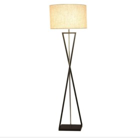フロアランプ立ちランプ 北欧のフロアランプアートモダンなスタンディングライトリビングルームの寝室のLEDホーム照明器具ベッドサイドのフロアランプ夜E27 フロアスタンドランプ (Color : Light brown)