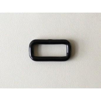 鉄製 小カン27mm ナイロンコーティング加工 ブラック4個