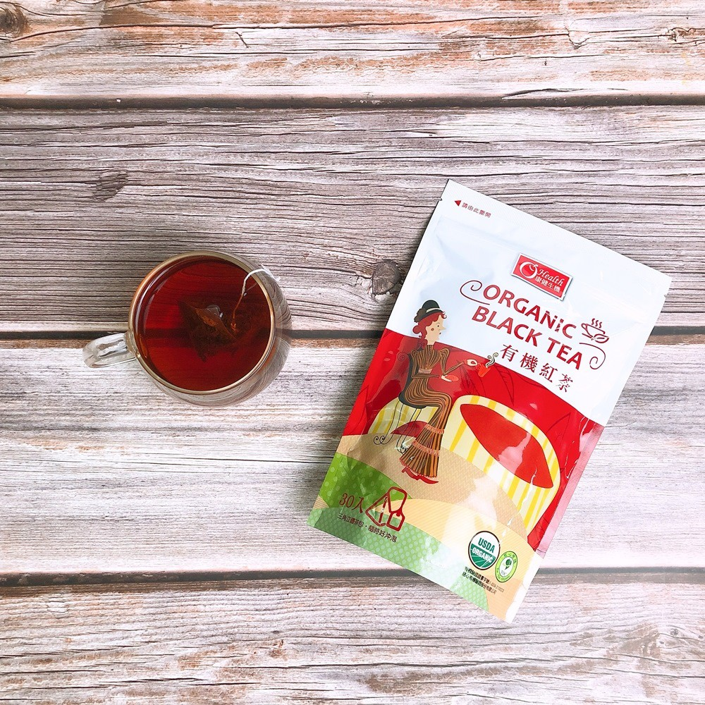 【康健生機】有機紅茶(2.5gX30包)