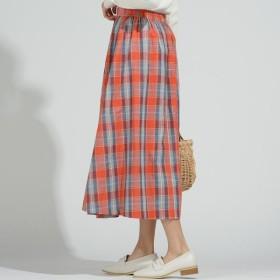 [マルイ] 【socolla】マドラスチェック巻き風スカート/メイソングレイ(MAYSON GREY)