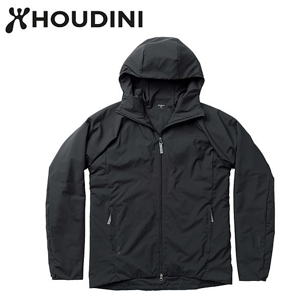 瑞典【Houdini】M`s Heavenly Houdi  男款化纖外套  純黑 208584