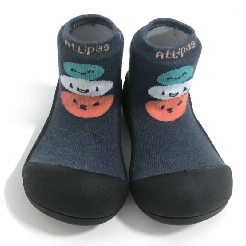 快樂學步鞋-黑底麻吉 M