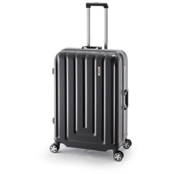 スーツケース/キャリーバッグ 〔カーボンブラック〕 82L ダイヤル式 TSAロック アジア・ラゲージ 『MAX SMART』
