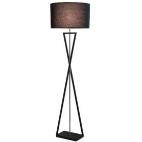 フロアランプ立ちランプ 北欧のフロアランプアートモダンなスタンディングライトリビングルームの寝室のLEDホーム照明器具ベッドサイドのフロアランプ夜E27 フロアスタンドランプ (Color : Dark brown)