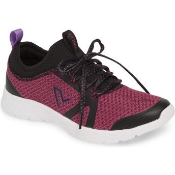 [バイオニック] シューズ スニーカー Vionic Alma Sock Sneaker (Women) Black/Pin レディース [並行輸入品]