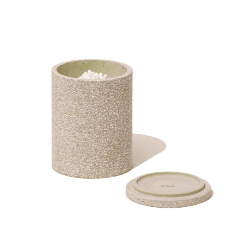 棉簽收納罐 綠色 棉簽收納匣 綠色