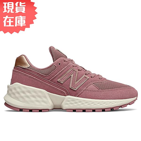 【現貨】New Balance 574 女鞋 休閒 Fresh Foam 透氣 麂皮 粉【運動世界】WS574ATG
