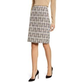 ANNE KLEIN(アンクライン) ボトムス スカート Anne Klein Tweed Pencil Skirt Vicuna Com レディース [並行輸入品]