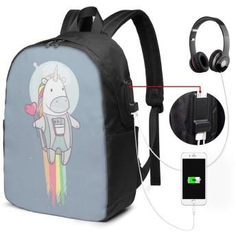 私は宇宙飛行士です リュック バックパックリュックサック USB充電ポート付き イヤホン穴付き 大容量 PCバッグ レジャーバッグ 旅行カバン 登山リュック ビジネスリュック ユニセックス おしゃれ 人気