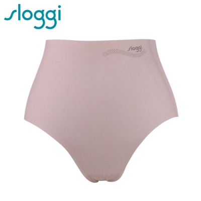 sloggi Zero Feel Cotton 零感系列混棉款高腰褲 玫瑰粉 74-6561 YV