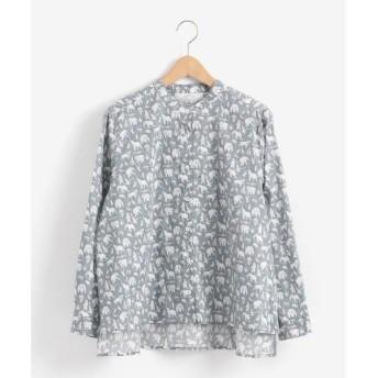 NIMES / ニーム リバティプリント フレンチワークシャツ