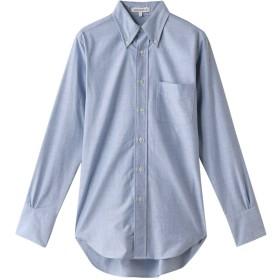 MADISONBLUE マディソンブルー 【予約販売】オックスフォードボタンダウンドレスシャツ サックス