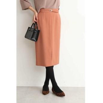 N.Natural Beauty Basic / エヌ ナチュラルビューティーベーシック ウエストベルト付カラータイトスカート