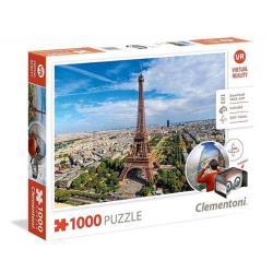 【義大利 Clementoni】VR拼圖-巴黎 Paris(1000pcs) CL39402I