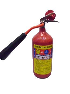【便宜購】二氧化碳滅火器10P Co2滅火器. 消防認證(鋼瓶保固2年)