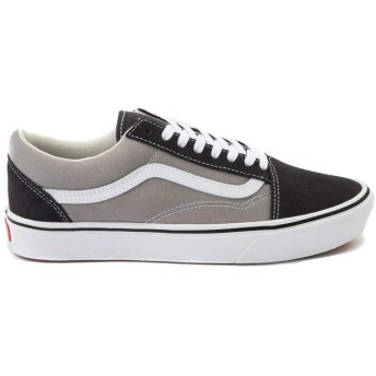 [バンズ] 靴・シューズ レディーススケートシューズ Old Skool ComfyCush Skate Shoe - Asphalt/Drizzle Gray/グレー US Men's 4, Women's 5.5 (M 22, W 22.5) [並行輸入品]