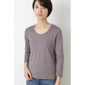 HUMAN WOMAN(ヒューマン ウーマン)/100/3ロングスリーブTシャツ