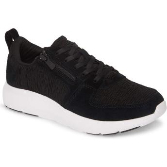 [バイオニック] シューズ スニーカー Vionic Remi Sneaker (Women) Black Leat レディース [並行輸入品]