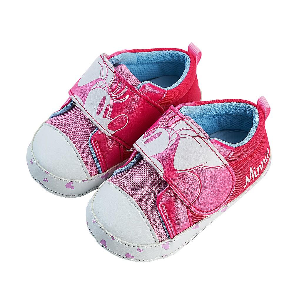 迪士尼童鞋 米妮 復古大臉寶寶學步鞋