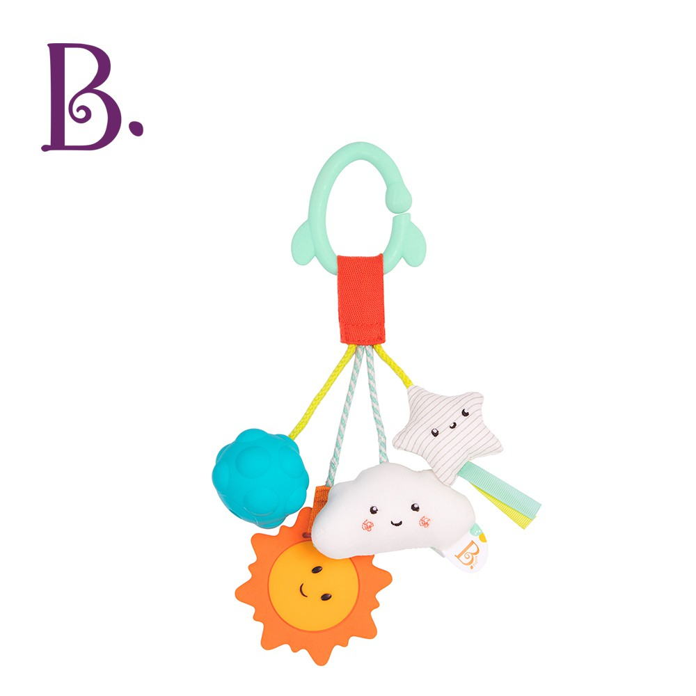 B.Toys 派樂地星系-吊飾玩偶 寶寶 新生兒 玩偶 吊飾