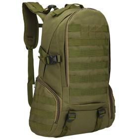 登山バッグ 軽量のバックパック登山袋の手荷物の特別な柔らかい空気バックパックの方法バックパック 登山リュック・ザック (色 : Olive green, サイズ : ワンサイズ)