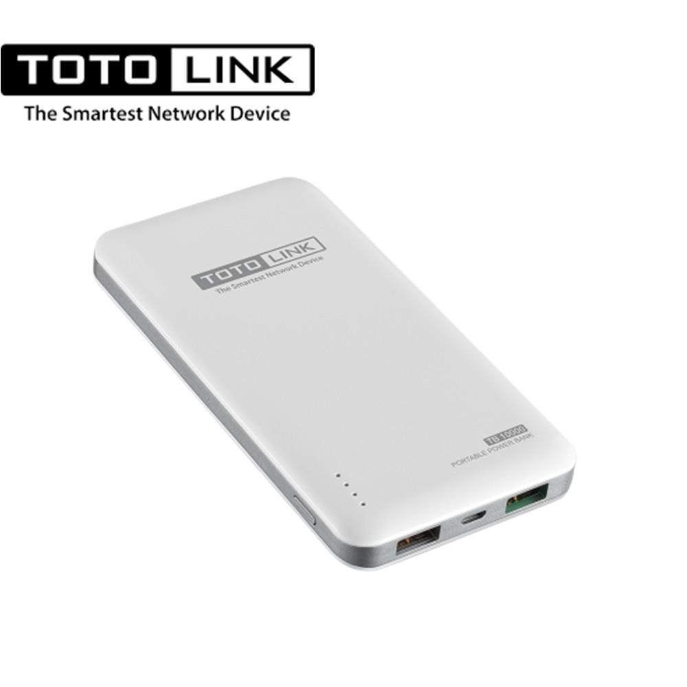 TOTOLINK 10000mAh超薄快充行動電源-TB10000