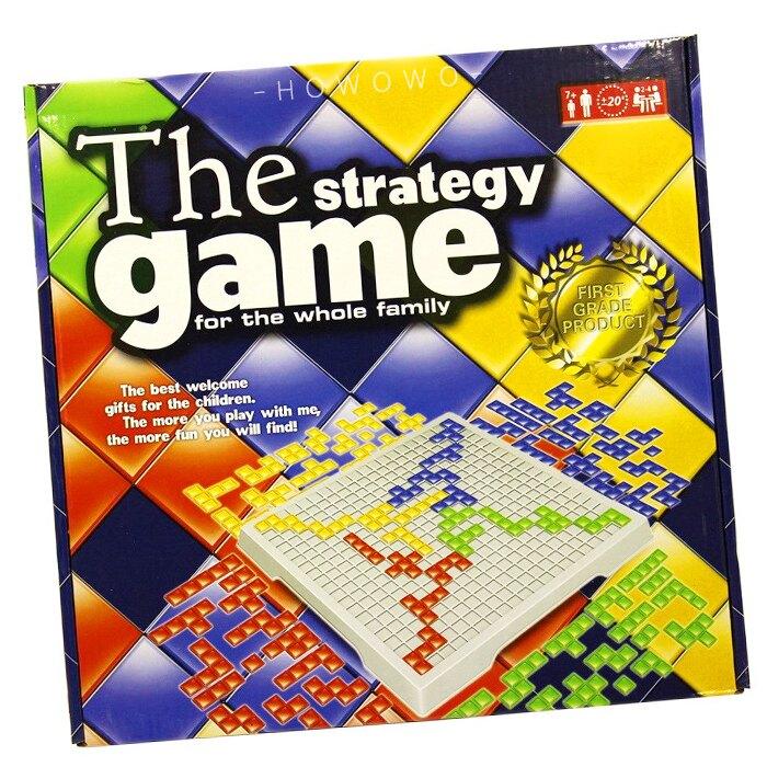 桌遊 4人方格遊戲 德國圍棋 格格不入 俄羅斯方塊棋 角鬥士棋 方塊競技場 益智遊戲 2789 好娃娃
