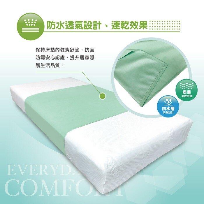 福朵 防水抗菌中單-清新綠 (單入)【杏一】