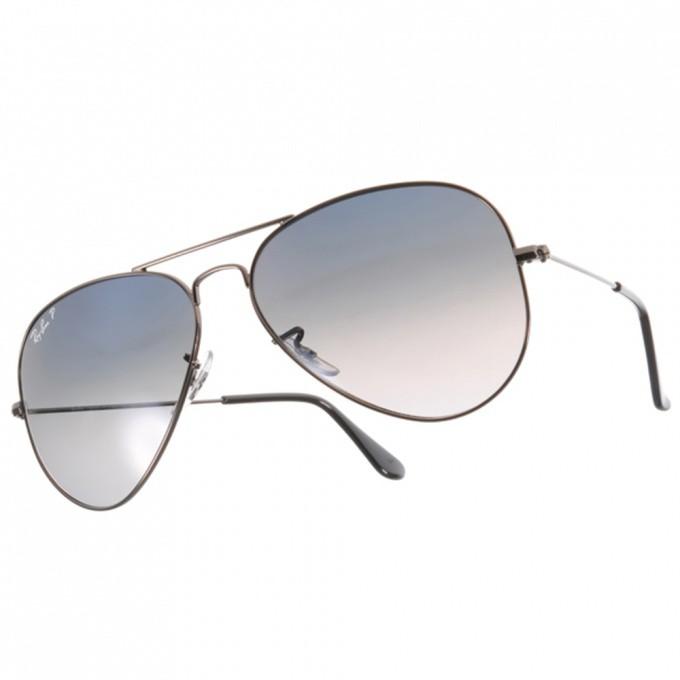 RayBan雷朋 太陽眼鏡 RB3025 00478-58mm 經典飛官偏光款 -金橘眼鏡