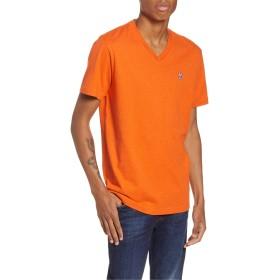 Psycho Bunny(サイコバニー) トップス Tシャツ Psycho Bunny Classic V-Neck T-Shirt 808 Orange メンズ [並行輸入品]