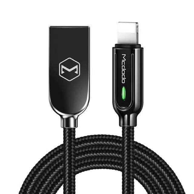 麥多多 mcdodo iphone充電線 lighting充電線 智者系列 智能斷電 1.8m
