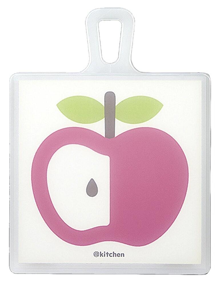 日本製mellina kitchen雙面抗菌砧板m 蘋果