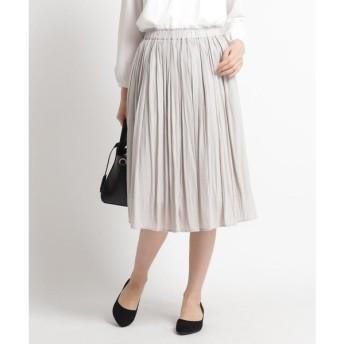Dessin / デッサン 【ママスーツ/入学式 スーツ/卒業式 スーツ S~Lサイズあり 洗える】パウダーサテンスカート