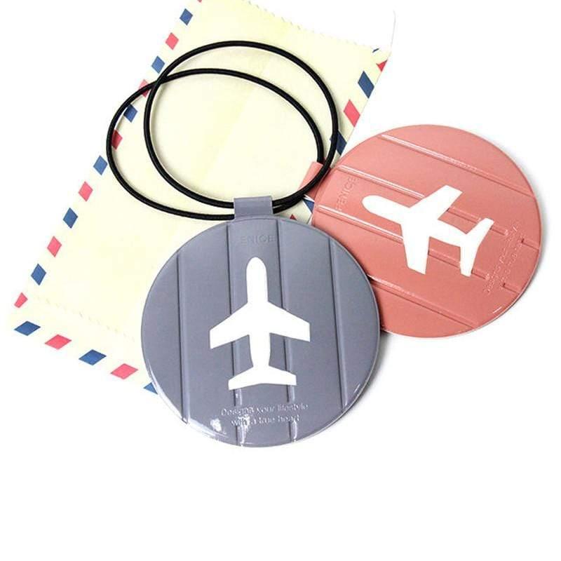 旅行系列 - 耐衝擊行李吊牌 - 灰