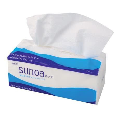 SUNOA抽取式衛生紙100抽*80包