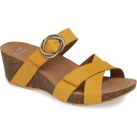[ダンスコ] シューズ サンダル Susie Platform Sandal (Women) Mango Nubu レディース [並行輸入品]