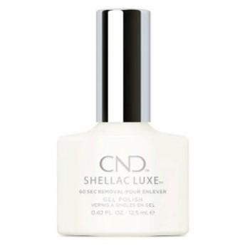 CND Shellac Luxe #151 スタジオ ホワイト