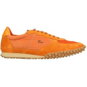 《セール開催中》OFF-WHITE メンズ スニーカー&テニスシューズ(ローカット) オレンジ 44 革 / 紡績繊維